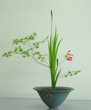 Ikebana, the art of Japanese flower arranging